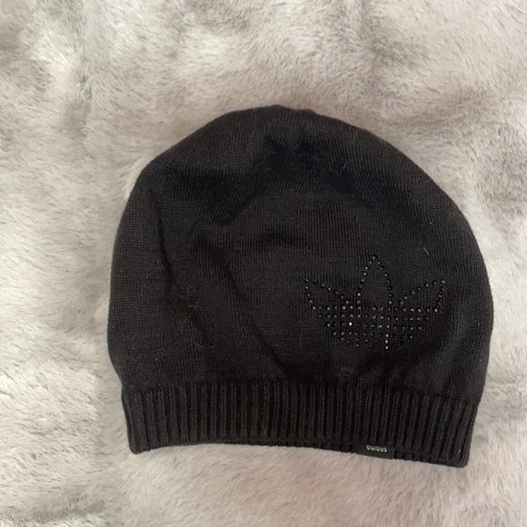 ☀️2/$15☀️ Adidas black beanie